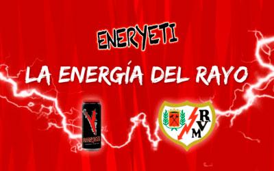 Eneryeti, patrocinador oficial del Rayo Vallecano de Madrid