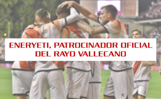 Eneryeti patrocinador rayo vallecano