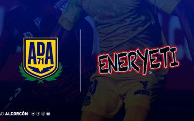 Eneryeti se convierte en el nuevo sponsor de la AD Alcorcón