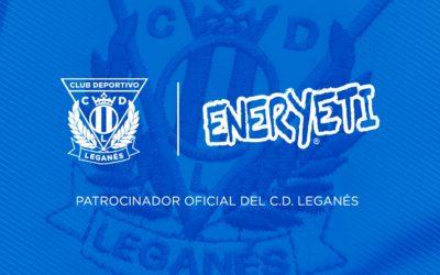 Eneryeti, patrocinador oficial del C.D. Leganés