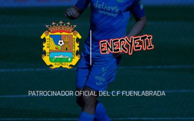 Eneryeti, nuevo patrocinador oficial del Fuenlabrada