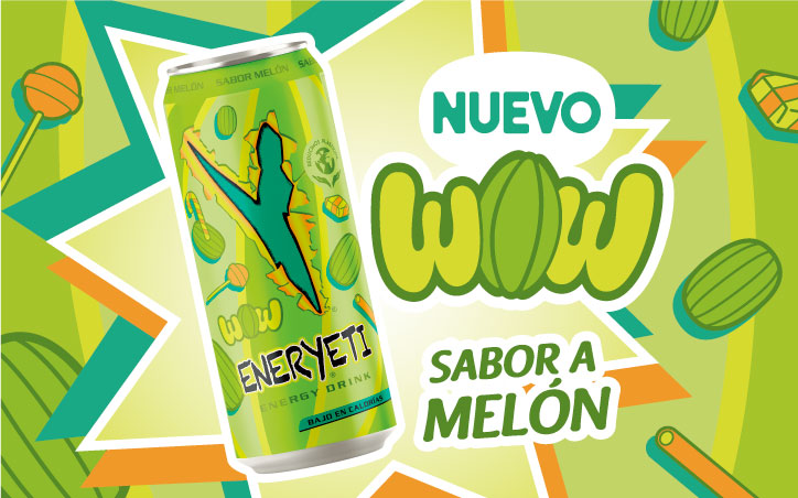 Eneryeti Wow sabor a melón