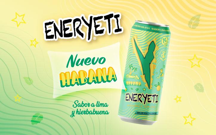 ENERYETI HABANA, EL TERCER LANZAMIENTO DEL AÑO