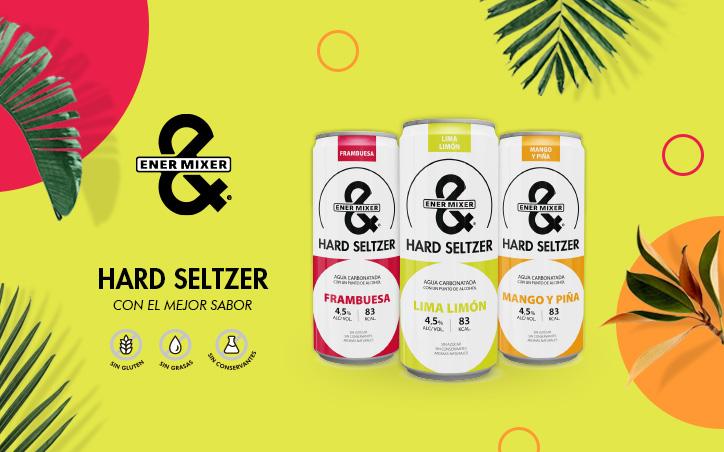 ENERYETI COMPANY LANZA HARD SELTZER ENER&MIXER